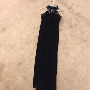 Women's formal full length dress
